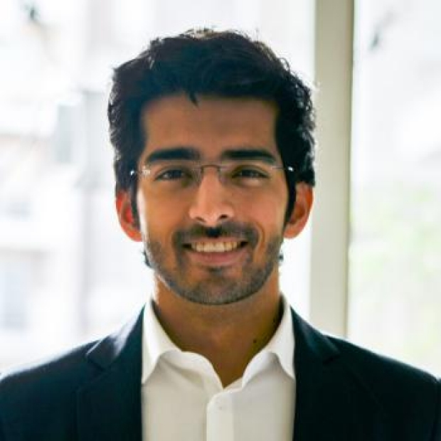 headshot of Rohan Shad Arora