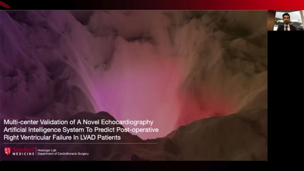 screenshot of online presentation