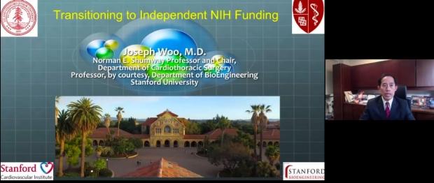 screen shot of online presentation