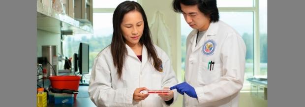 photo of Ngan Huang lab