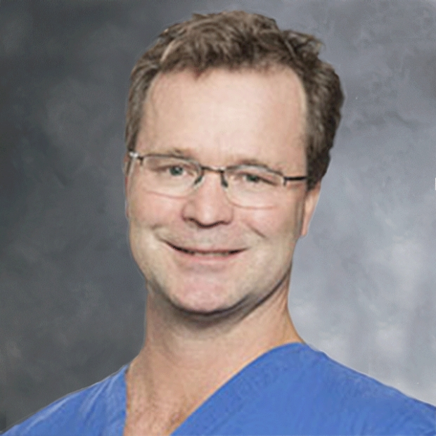 headshot of Doff McElhinney, MD