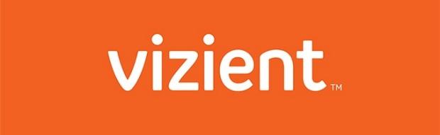 orange Vizient logo