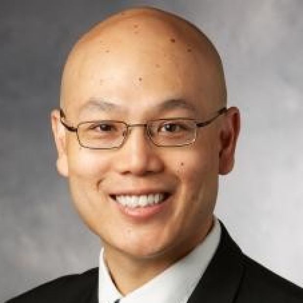 smiling headshot of Anson Lee, MD