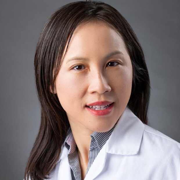 smiling headshot of Ngan Huang, PhD