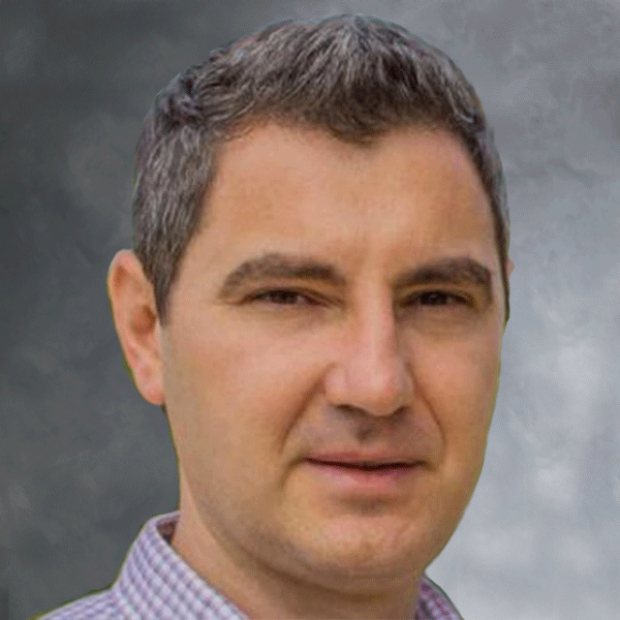 smiling headshot of Ioannis Karakikes, PhD