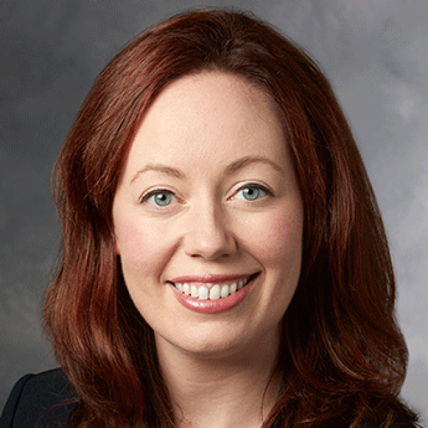 smiling headshot of Maria Currie, MD, PhD