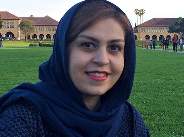 smiling head shot of Maedeh Zamani