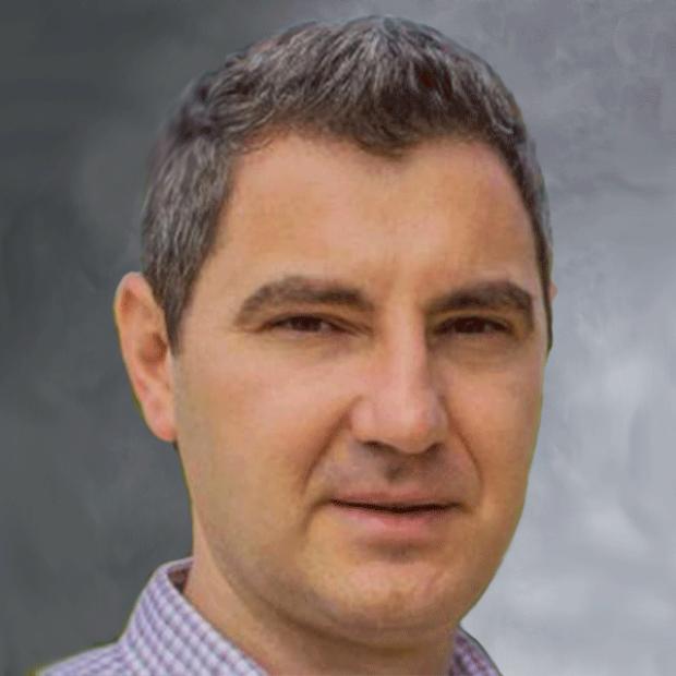 smiling headshot of Ioannis Karakikes