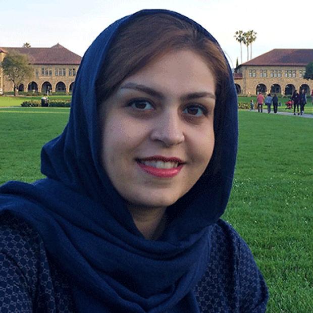 smiling headshot of Maedeh Zamani