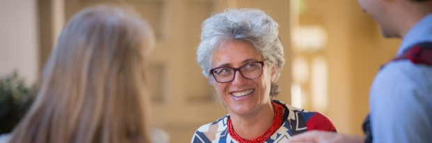 Chiara Sabatti attends 2018 DBDS Symposium, courtesy of Saul Bromberger & Sandra Hoover Photography