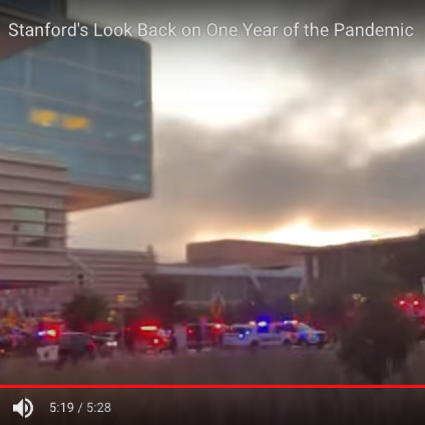 Screenshot of Stanford Today video