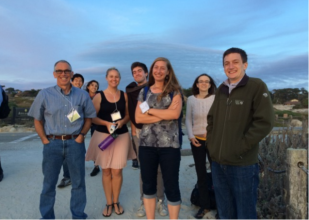 Russ Altman and BMI students attend annual retreat