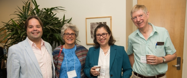 Faculty members attend the 2019 DBDS Symposium, image courtesy of Steve Castillo Photography