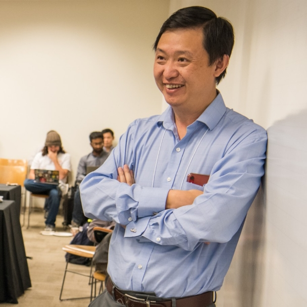 Lu Tian image from 2019 DBDS Symposium, courtesy of Steve Castillo Photography
