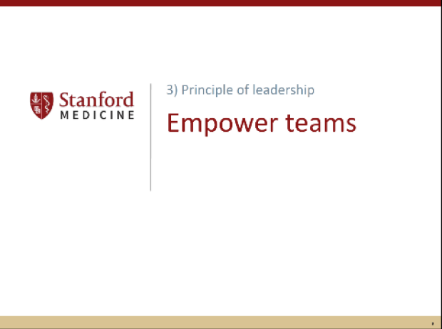 Authentic Leadership - Empower Teams