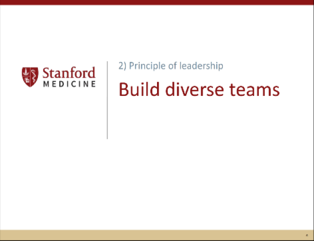 Authentic Leadership - Build Diverse Teams