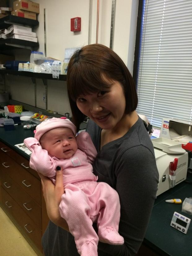 Ding Lab Member Baby