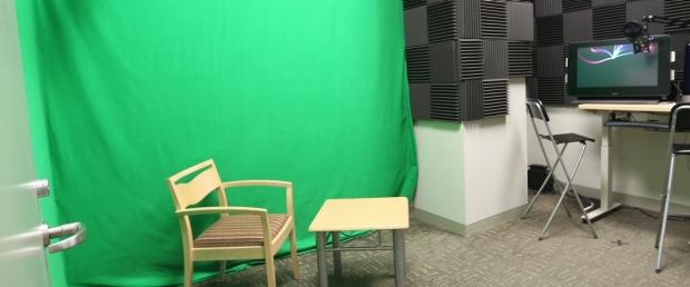 LK311D Green Screen Recording Booth