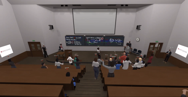 Virtual Reality Lecture in Anatomy