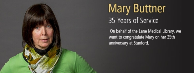 Mary Buttner, 35 Years of Service