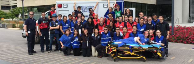 EMT group at Li Ka Shing Center