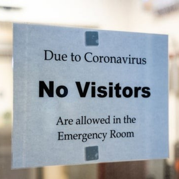 ER window sign image, courtesy of The Hill and Getty Images