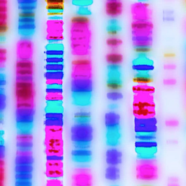 Colorful DNA upclose image from Washington Post