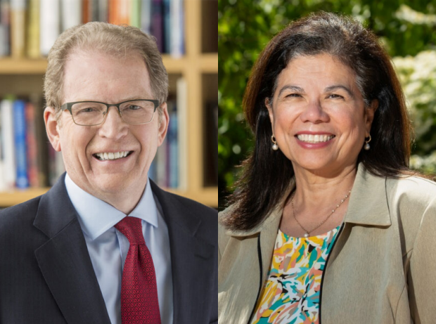 Faculty Fireside Chats: Lloyd Minor and Bonnie Maldonado