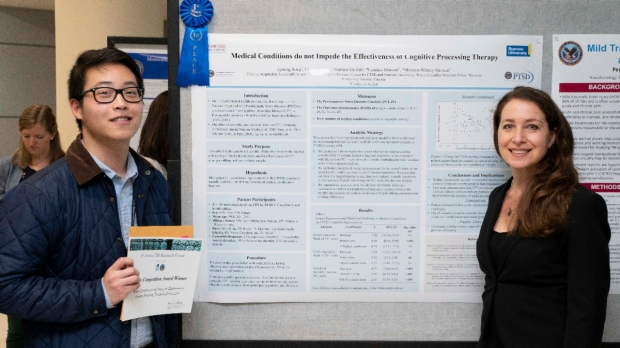 F.A.S.T. Lab won the best poster award at 2019 TBI Research Forum.