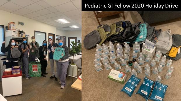 2020 Pediatric GI Fellow Holiday Drive