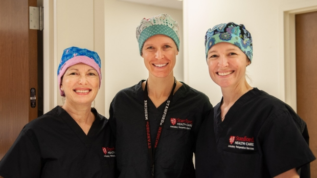 Members of the breast surgical team at CCSB.