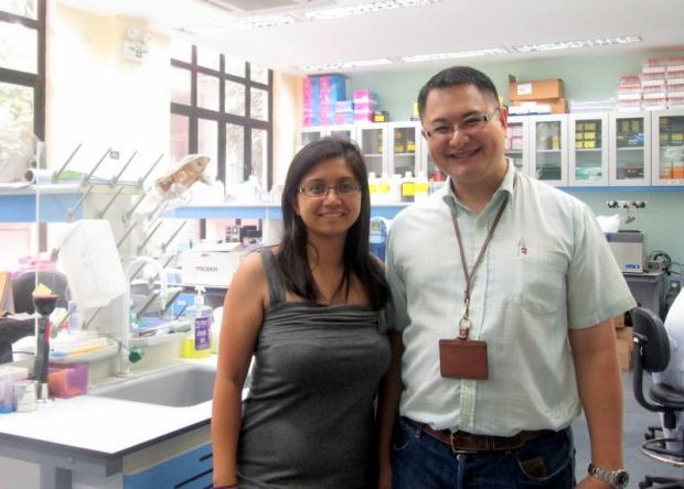 Rachel Rizal and mentor