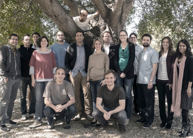 Heller Laboratory Team Photo - March 2014