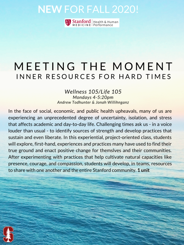Meeting the Moment: Inner Resources for Hard Times