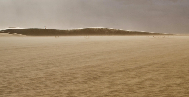 LifeWorks co-founder Andrew Todhunter in the Sahara near the Egyptian-Libyan border—image by Cristoph Gerigk