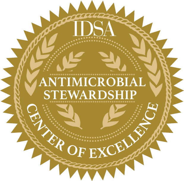 IDSA antimicrobial stewardship seal