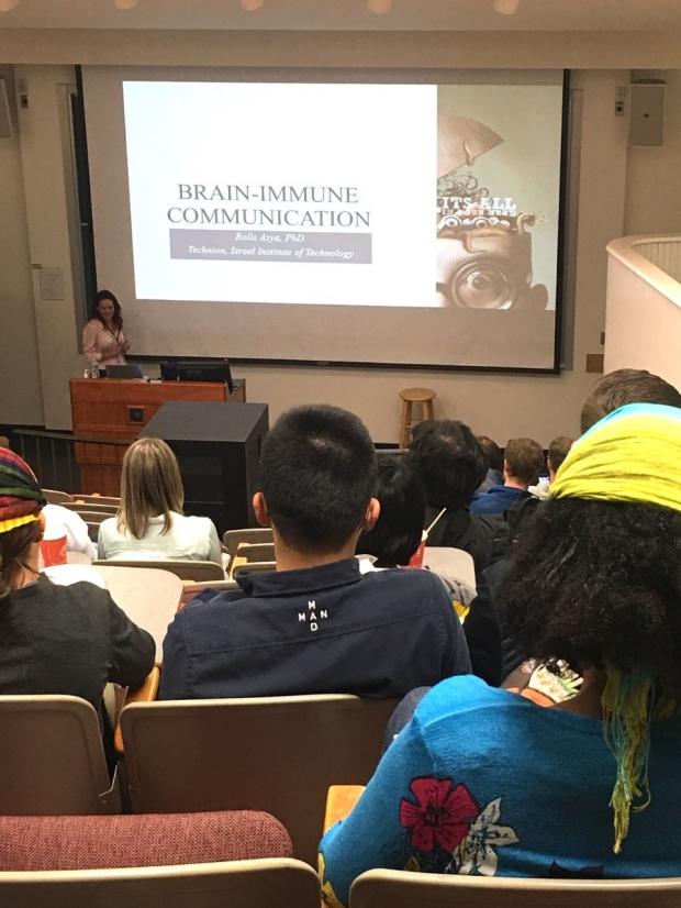CSI Seminar Series 2019: Aysa Rolls, PhD