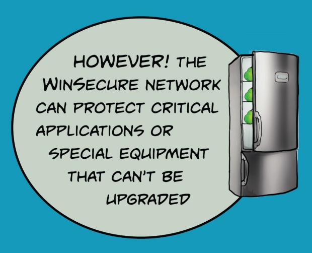 WinSecure may be possible
