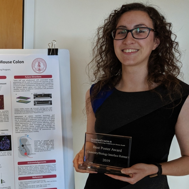Julieta wins Best Poster Award at the Chemistry/Biology Interface Training Program