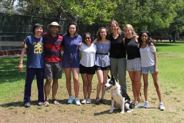Summer lab picnic