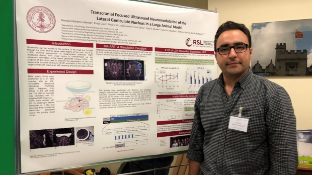 Morteza awarded best poster at FUN 2019