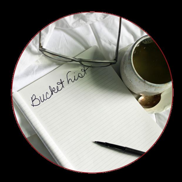 Photo:bucket list