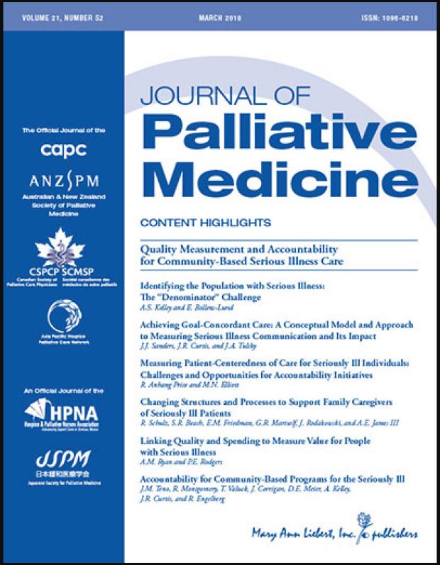 Journal of Palliative Medicine
