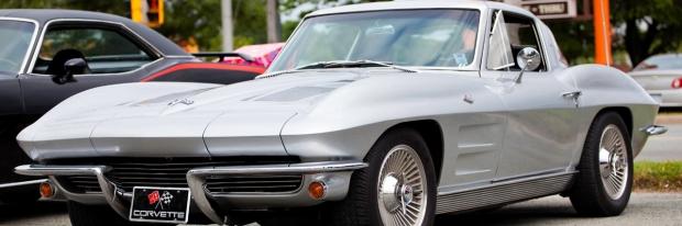 Photo: old corvette