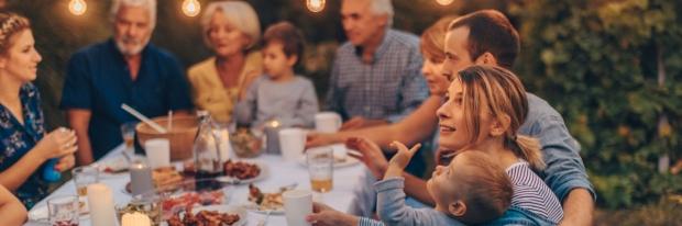 Photo: family gathering