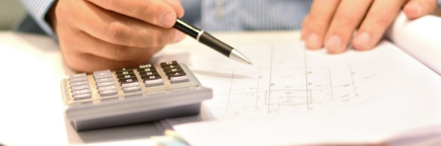 Photo: financial calculations