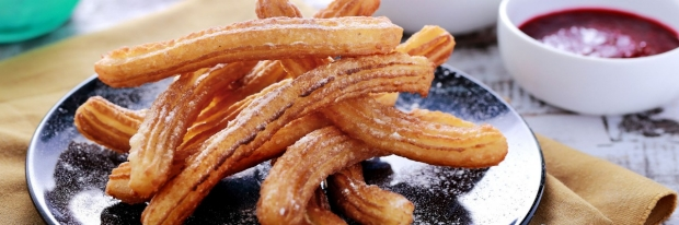 Photo: plate of churro