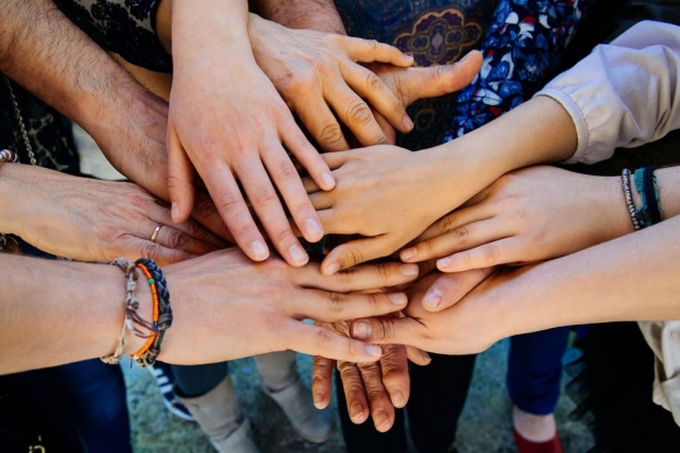 Photo: hands