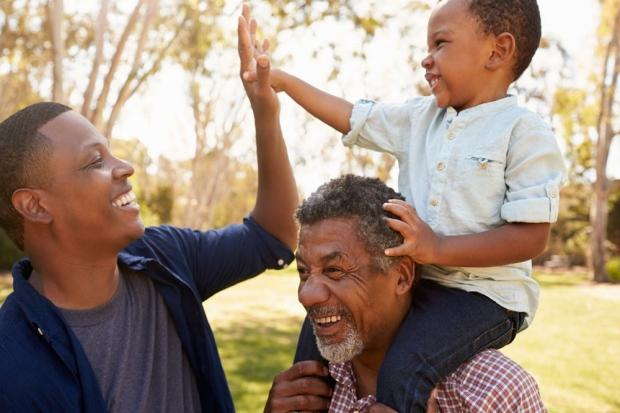Photo: multigenerational family