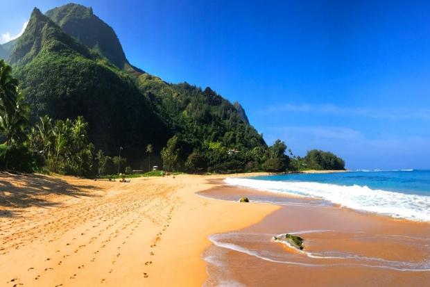 Photo: Hawaiian beach
